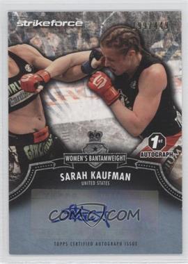 2012 Topps UFC [???] #A-SK - Sarah Kaufman