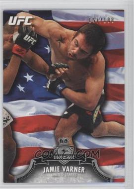 2012 Topps UFC Bloodlines - [Base] - Country Flag #139 - Jamie Varner /188