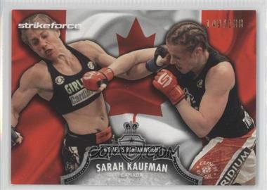 2012 Topps UFC Bloodlines - [Base] - Country Flag #23 - Sarah Kaufman /188