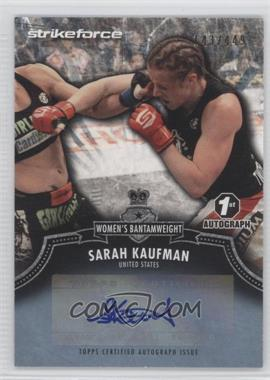 2012 Topps UFC Bloodlines Certified Autograph Issue #A-SK - Sarah Kaufman