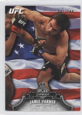 2012 Topps UFC Bloodlines Country Flag #139 - Jamie Varner /188