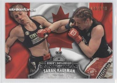2012 Topps UFC Bloodlines Country Flag #23 - Sarah Kaufman /188