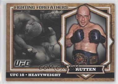 2012 Topps UFC Bloodlines Fighting Forefathers #FF-BS - Bas Rutten