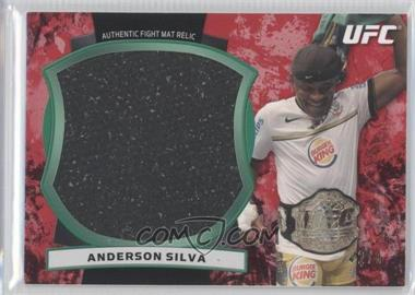 "2012 Topps UFC Bloodlines Jumbo Fight Mat Relics Red #JFMR-ASI - Anderson ""The Spider"" Silva (Anderson Silva) /8"