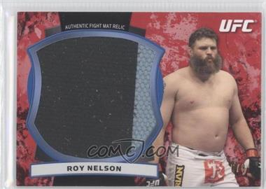 2012 Topps UFC Bloodlines Jumbo Fight Mat Relics Red #JFMR-RN - Roy Nelson /8