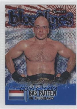 2012 Topps UFC Finest - [???] #BL-BR - Bas Rutten /188