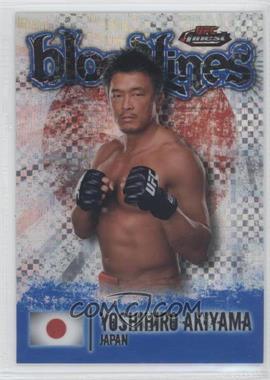 2012 Topps UFC Finest - [???] #BL-YA - Yoshihiro Akiyama /188
