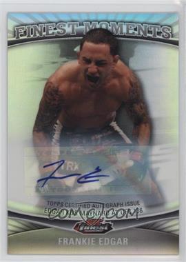 2012 Topps UFC Finest - [???] #FM-FE - Frankie Edgar