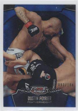 2012 Topps UFC Finest - [Base] - Blue X-Fractor #93 - Dustin Poirier /188