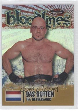 2012 Topps UFC Finest - Bloodlines - Gold Refractor #BL-BR - Bas Rutten /88