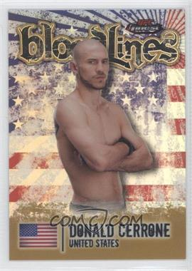 2012 Topps UFC Finest - Bloodlines - Gold Refractor #BL-DC - Donald Cerrone /88