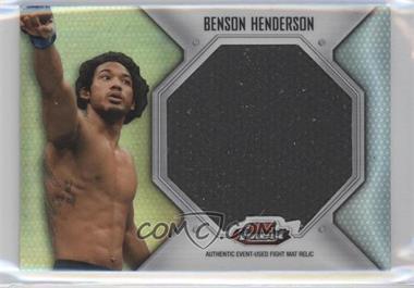 2012 Topps UFC Finest - Fight Mat Jumbo Relic #FFJM-BH - Benson Henderson (Ben Henderson)