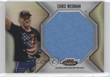 2012 Topps UFC Finest - Fight Mat Jumbo Relic #FFJM-CW - Chris Weidman
