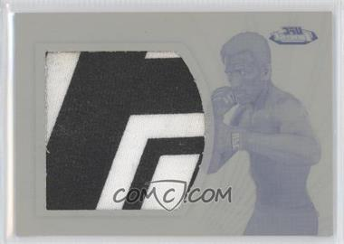 2012 Topps UFC Finest - Jumbo Finest Threads - Printing Plate Black #JFT-KF - Kenny Florian /1