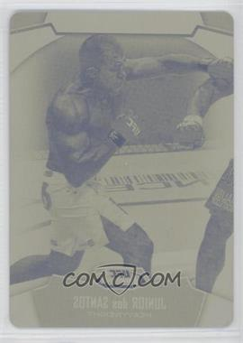 2012 Topps UFC Finest [???] #23 - Junior Dos Santos /1