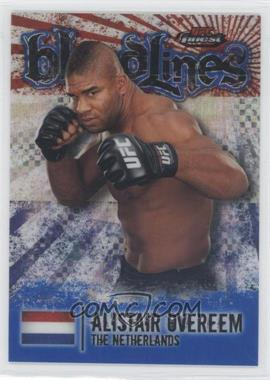 2012 Topps UFC Finest [???] #BL-AO - Alistair Overeem /188