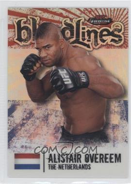 2012 Topps UFC Finest [???] #BL-AO - Alistair Overeem