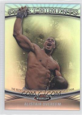 2012 Topps UFC Finest [???] #FM-AO - Alistair Overeem