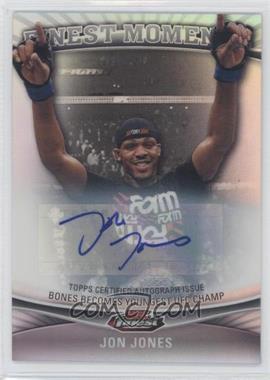 "2012 Topps UFC Finest [???] #FM-JJ - Jon ""Bones"" Jones (Jon Jones)"
