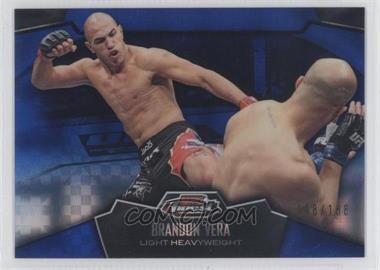 2012 Topps UFC Finest Blue X-Fractor #37 - Brandon Vera /188