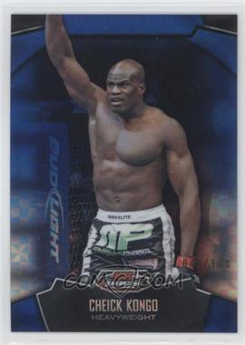2012 Topps UFC Finest Blue X-Fractor #38 - Cheick Kongo /188