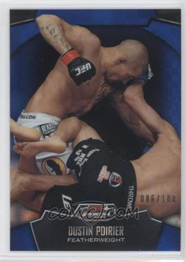 2012 Topps UFC Finest Blue X-Fractor #93 - Dustin Poirier /188