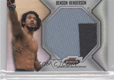 2012 Topps UFC Finest Fight Mat Jumbo Relic #FFJM-BH - Benson Henderson (Ben Henderson)
