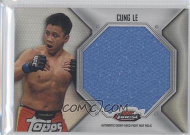 2012 Topps UFC Finest Fight Mat Jumbo Relic #FFJM-CL - Cung Le