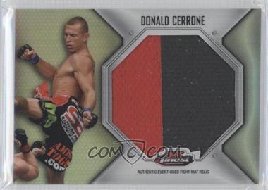 2012 Topps UFC Finest Fight Mat Jumbo Relic #FFJM-DC - Donald Cerrone