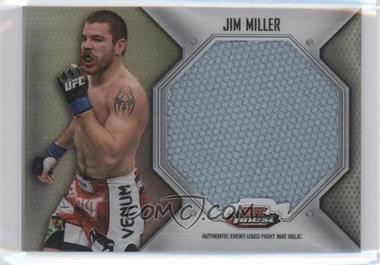 2012 Topps UFC Finest Fight Mat Jumbo Relic #FFJM-JM - Jim Miller