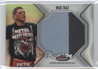 2012 Topps UFC Finest Fight Mat Jumbo Relic #FFJM-ND - Nick Diaz