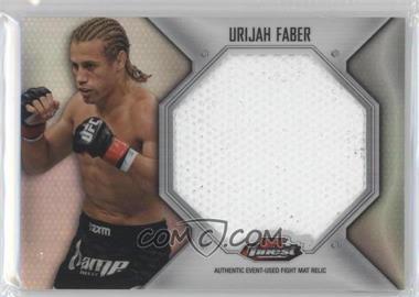 2012 Topps UFC Finest Fight Mat Jumbo Relic #FFJM-UF - Urijah Faber