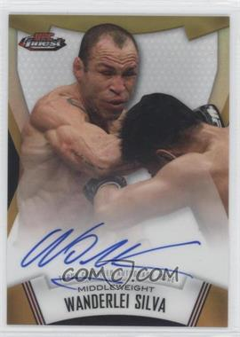 "2012 Topps UFC Finest Fighters Autographs Gold Refractor #A-WS - Wanderlei ""The Axe Murderer"" Silva (Wanderlei Silva) /25"