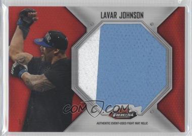 2012 Topps UFC Finest Jumbo Fight Mat Relics Red Refractor #FFJM-LJ - Lavar Johnson /1
