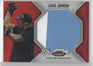 2012 Topps UFC Finest Jumbo Fight Mat Relics Red Refractor #FFJM-LJ - Lavar Johnson /1