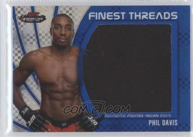2012 Topps UFC Finest Jumbo Finest Threads Blue X-Fractor #JFT-PD - Phil Davis /188