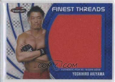 2012 Topps UFC Finest Jumbo Finest Threads Blue X-Fractor #JFT-YA - Yoshihiro Akiyama /188