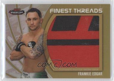 2012 Topps UFC Finest Jumbo Finest Threads Gold Refractor #JFT-FE - Frankie Edgar /88