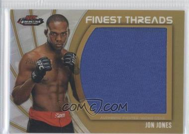 "2012 Topps UFC Finest Jumbo Finest Threads Gold Refractor #JFT-JJ - Jon ""Bones"" Jones (Jon Jones) /88"
