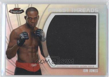 """2012 Topps UFC Finest Jumbo Finest Threads #JFT-JJ - Jon """"Bones"""" Jones (Jon Jones)"""