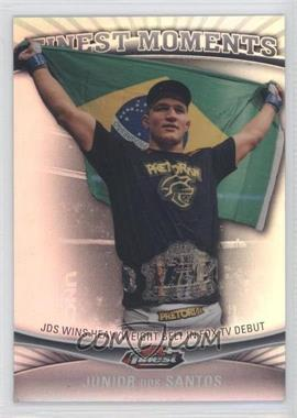 2012 Topps UFC Finest Moments Refractor #FM-JDS - Junior Dos Santos