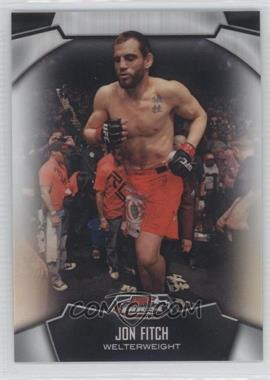 2012 Topps UFC Finest Refractors #33 - Jon Fitch
