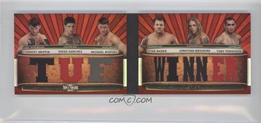 2012 Topps UFC Knockout - [???] #TTRDC-GSBBBF - Forrest Griffin, Diego Sanchez, Michael Bisping, Ryan Bader, Jonathan Brookins, Tony Ferguson