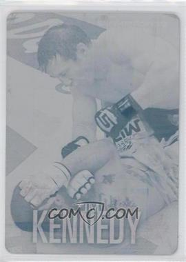 2012 Topps UFC Knockout - [Base] - Printing Plate Cyan #9 - Tim Kennedy /1