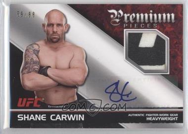 2012 Topps UFC Knockout - Premium Pieces Relics - Autographs [Autographed] #APP-SC - Shane Carwin /88