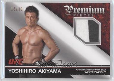 2012 Topps UFC Knockout - Premium Pieces Relics #PP-YA - Yoshihiro Akiyama /88