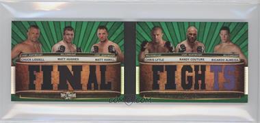 2012 Topps UFC Knockout - Triple Threads Double Relic Combos #TTRDC-LHHLCA - Chuck Liddell, Matt Hughes, Matt Hamill, Chris Lytle, Randy Couture, Ricardo Almeida /18
