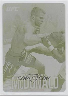 2012 Topps UFC Knockout [???] #62 - Michael McDonald