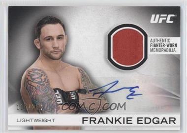 2012 Topps UFC Knockout [???] #AFG-FE - Frankie Edgar /200