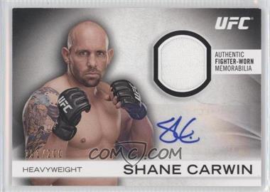 2012 Topps UFC Knockout [???] #AFG-SC - Shane Carwin /200